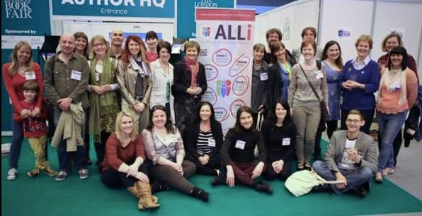 ALLI authors meet up at the London Book Fair April 2014