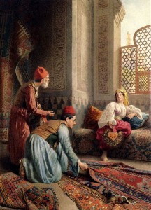 The Carpet Sellers, Francesco Ballesio