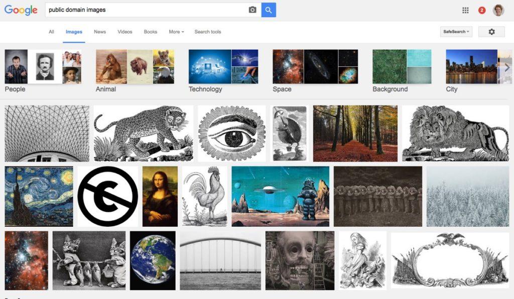 Google - public doman