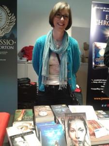 Jane Davis at 2015 Indie Author Fair