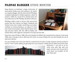 Filofax blogger