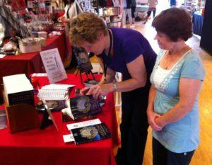 Signing at fairs