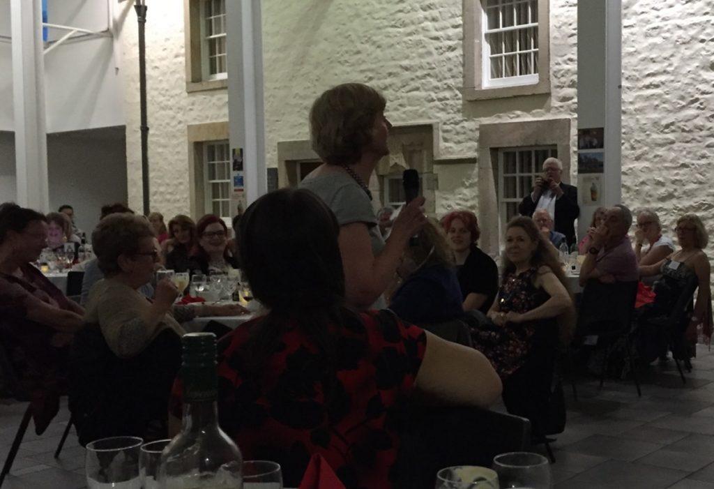 Eileen speaking