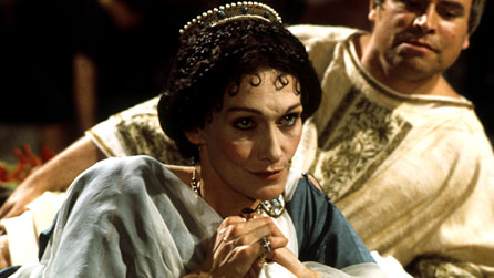 Sian Phillips as Livia in I, Claudius (BBC)