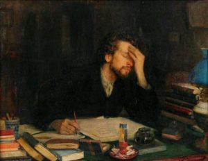 Writing, Leonid Pasternak, 1862 – 1945