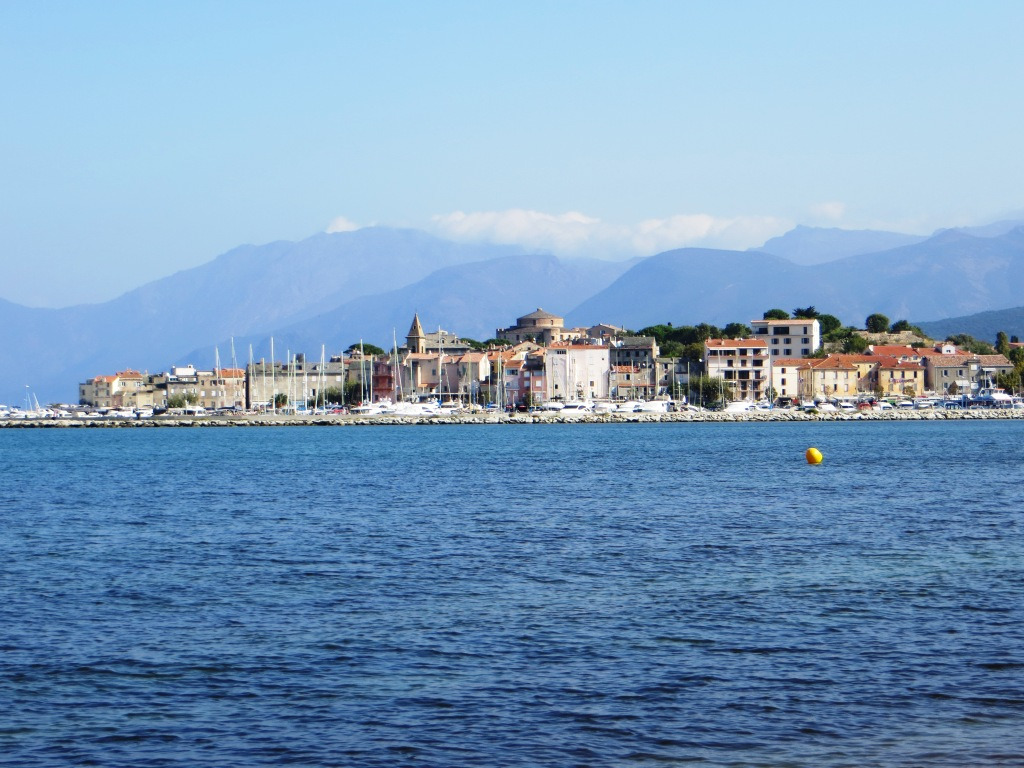 Corsica – Saint-Florent with Cap Corse mountains behind