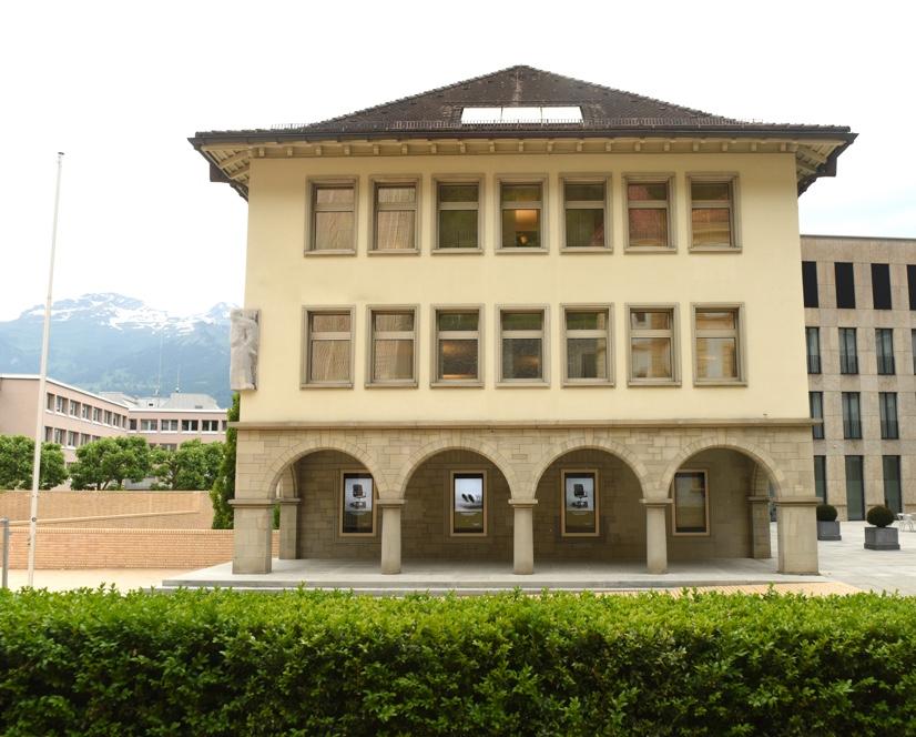 Liechtenstein bank building